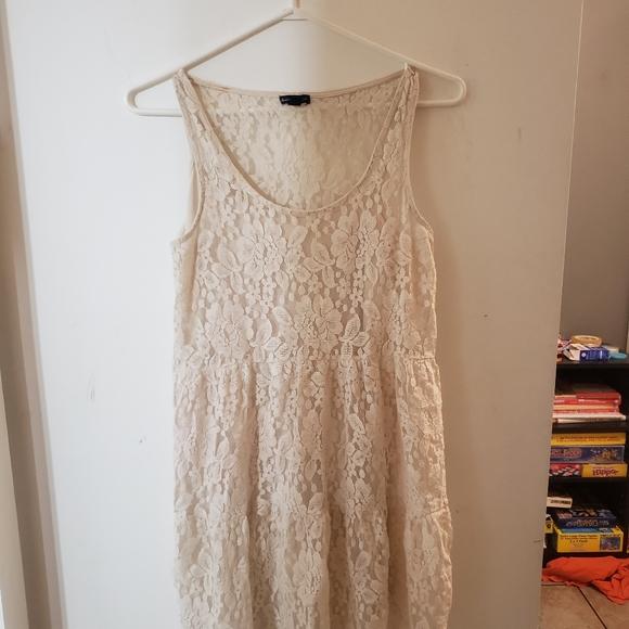 American eagle white dress